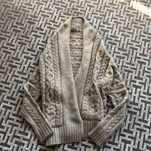 VINCE. Ladies knitted cardigan size large
